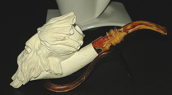 Tree Man Meerschaum Pipe