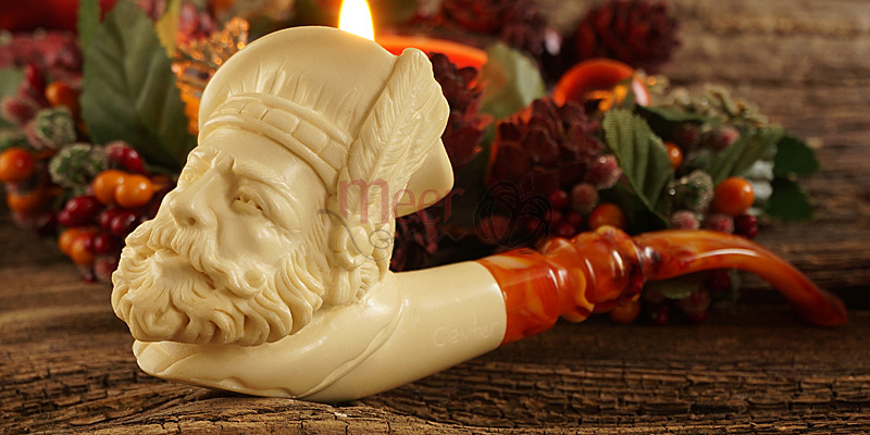 Scotsman Meerschaum Pipe by Cevher