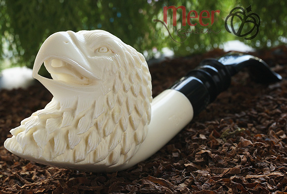 Eagle Block Meerschaum Pipe |DIAMOND SERIES