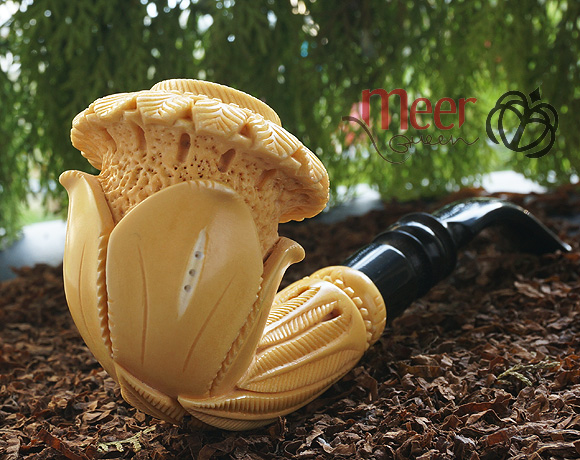 Calabash Block Meerschaum Pipe |DIAMOND SERIES