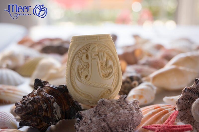 Marine Corps Meerschaum Pipe |Golden Series